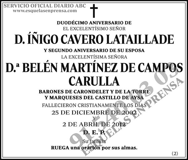 Íñigo Cavero Lataillade